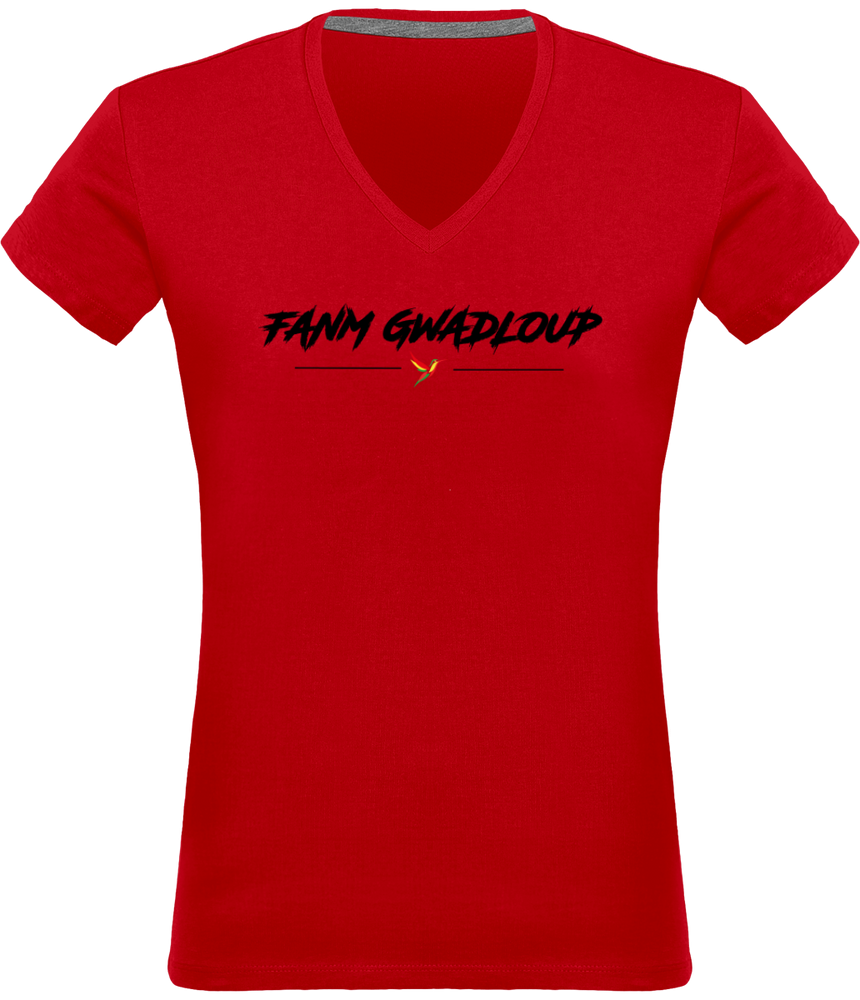 T-Shirt V-Neck Women
