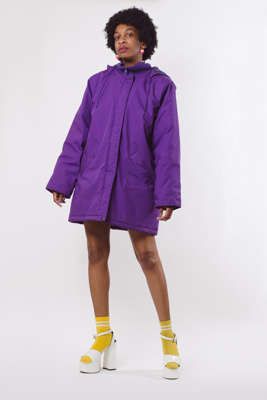 90's Purple Cold Mountain Coat