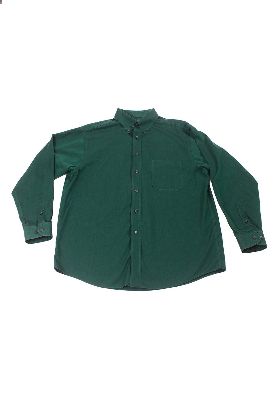 Vintage 90's Green Button Down Shirt