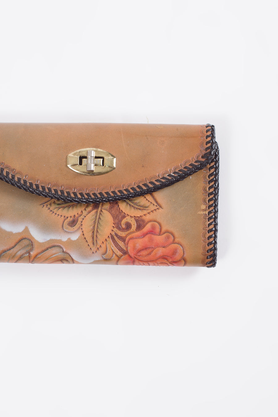Vintage Western Leather Wallet