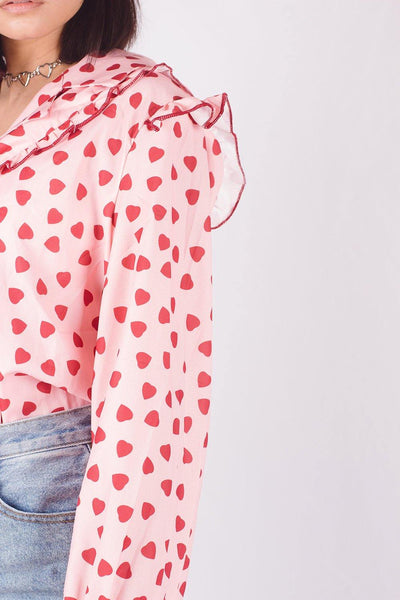 SWEET HEARTS BLOUSE