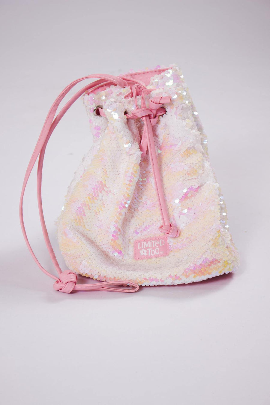 Limited Too Pink Glitter Purse