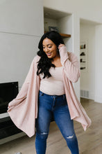 Load image into Gallery viewer, Blakely Blush Hooded Cardigan