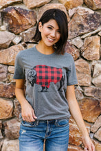 Load image into Gallery viewer, Buffalo Plaid Buffalo Tee