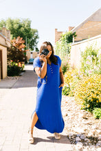 Load image into Gallery viewer, Chillax Summer Maxi In Royal Blue