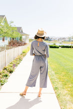 Load image into Gallery viewer, Cropped Wide Leg Jumpsuit