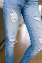 Load image into Gallery viewer, Cuff 'Em Destroyed Jeans