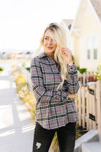 Load image into Gallery viewer, Fleece-Lined Flannel Button-Down In Gray