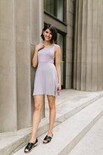 Load image into Gallery viewer, Fun + Flirty Dress In Light Gray