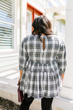 Load image into Gallery viewer, Gingham + Plaid Babydoll Blouse