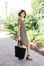 Load image into Gallery viewer, Hot Spot Leopard Print Dress