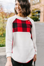 Load image into Gallery viewer, It's Good To Be Plaid Pullover