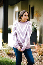 Load image into Gallery viewer, Lilac VVV Sweater