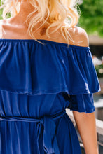 Load image into Gallery viewer, Romantic Ruffle Off Shoulder Dress