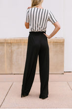 Load image into Gallery viewer, Ruched Waist Wide Leg Pants