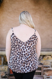 Seeing Spots Lace Trimmed Cami