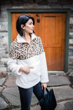 Load image into Gallery viewer, Snow Spots Fleece Pullover