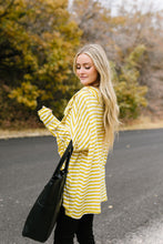 Load image into Gallery viewer, Sunshine Stripes Cowl Neck Top