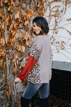 Load image into Gallery viewer, Wild Side Waffle Knit Top