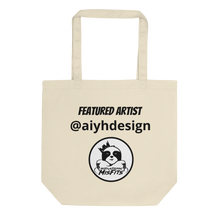 Load image into Gallery viewer, Featured Artist - Aiyhdesign - Dope - Eco Tote Bag