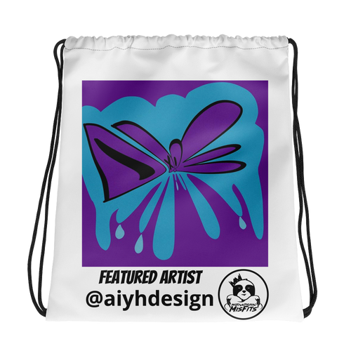 Featured Artist - Aiyhdesign - Dope - Drawstring bag