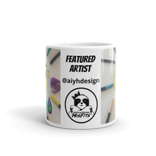 Load image into Gallery viewer, Featured Artist - Aiyhdesign - Yellow Screamer - Mug
