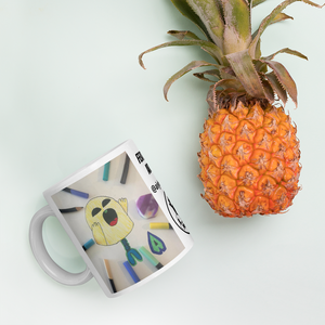 Featured Artist - Aiyhdesign - Yellow Screamer - Mug