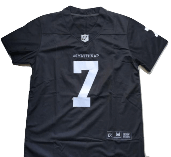 Im With Kap #ImWithKap Football Jersey