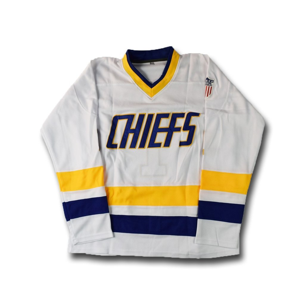 Charlestown Chiefs Leimeux Ice Hockey Jersey 1 Blue