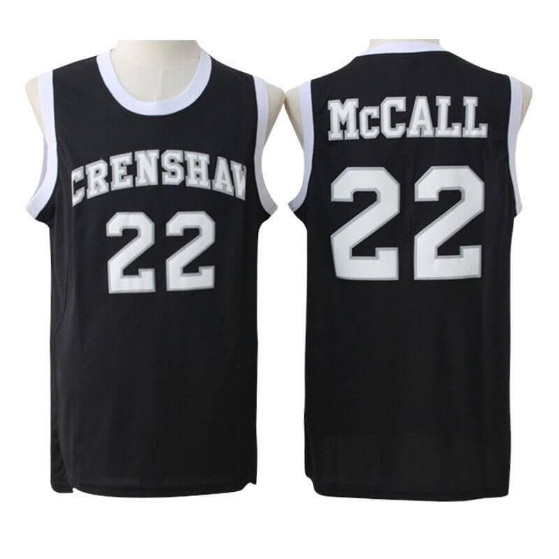 Love and Basketball Quincy McCall #22 Crenshaw Basketball Jersey Black Stitched - Jersey Champs - Custom Basketball, Baseball, Football & Hockey Jerseys