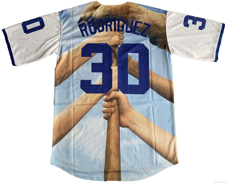 Benny The Jet Rodriguez The Sandlot Legends Baseball Jersey 30