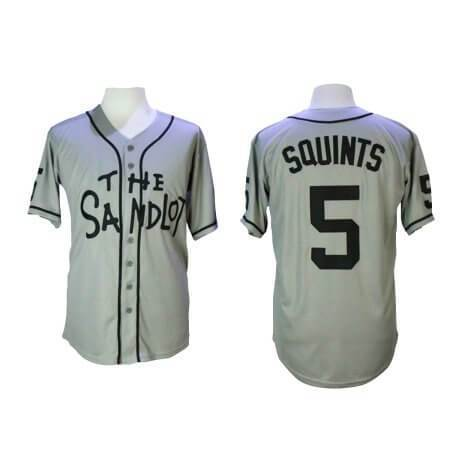 The Sandlot Squints 5 Baseball Jersey