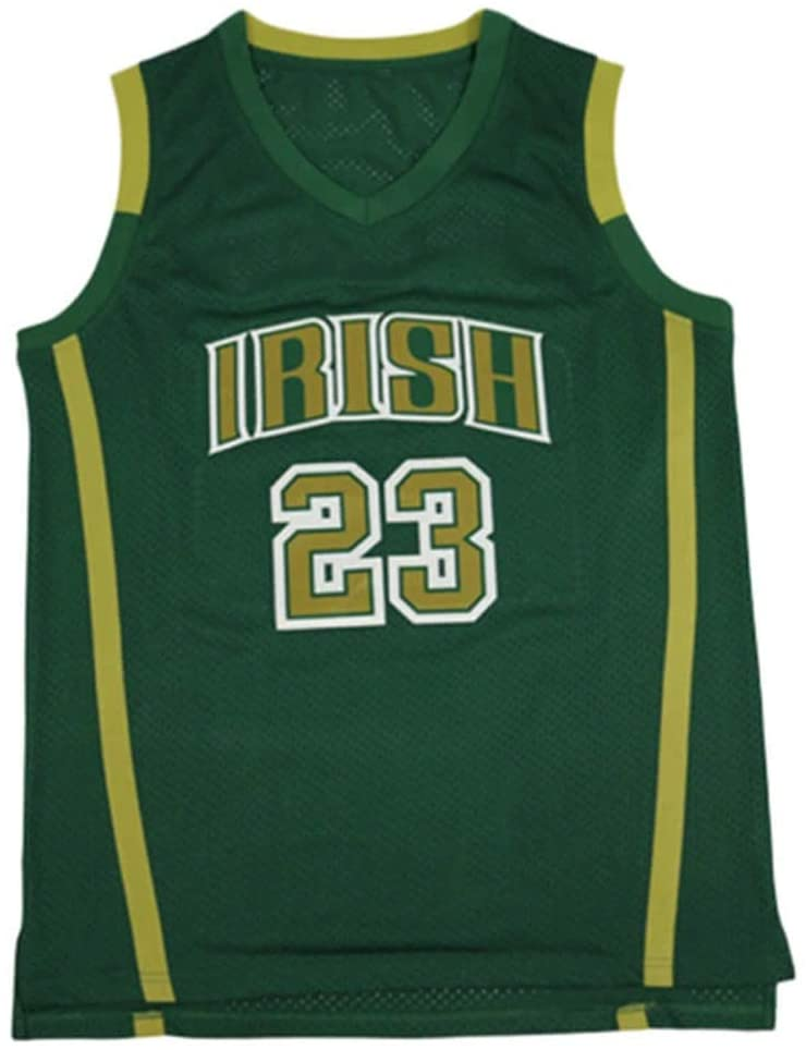 LBJ Irish 23 High School Basketball Jersey