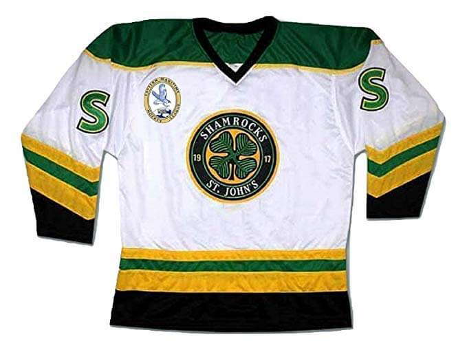 Ross The Boss Rhea St John's Shamrocks Hockey Jersey