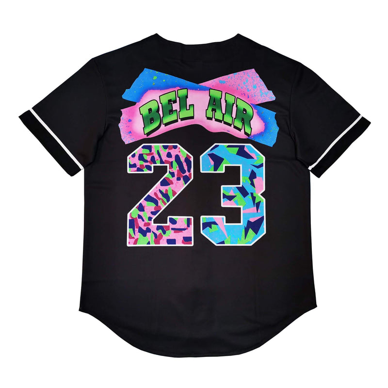 Fresh Prince Of Bel Air Baseball Jersey