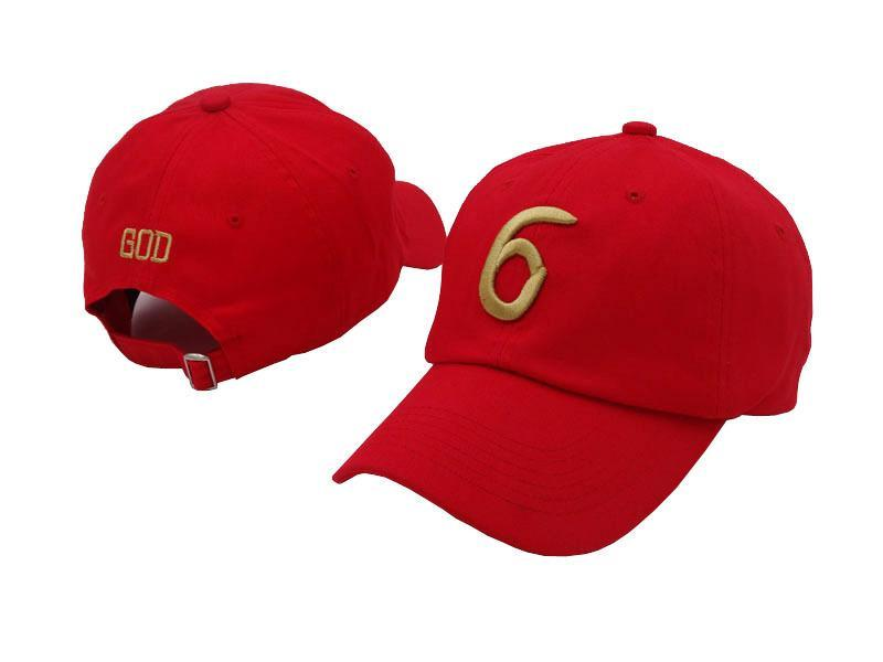 6 God Dad Hat - Jersey Champs red_gallery