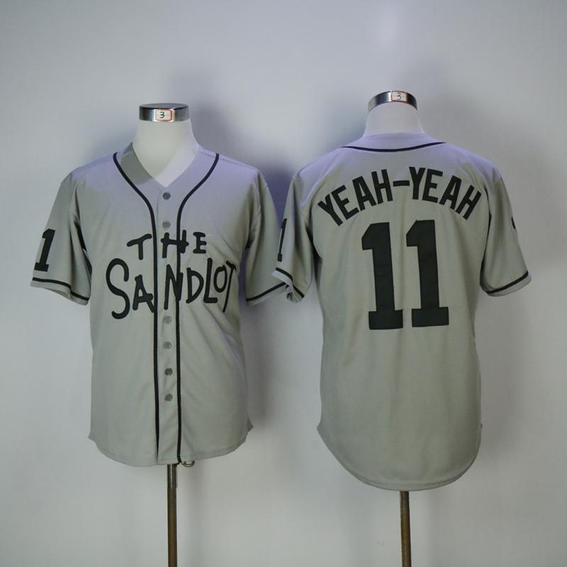 The Sandlot Yeah Yeah Baseball Jersey - Jersey Champs - Custom Basketball, Baseball, Football & Hockey Jerseys