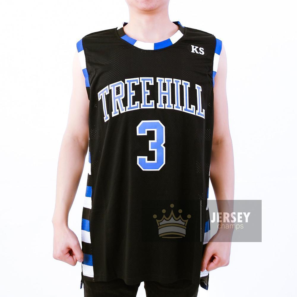 Stitched One Tree Hill Basketball Jerseys #23 #3 - Jersey Champs - Custom Basketball, Baseball, Football & Hockey Jerseys