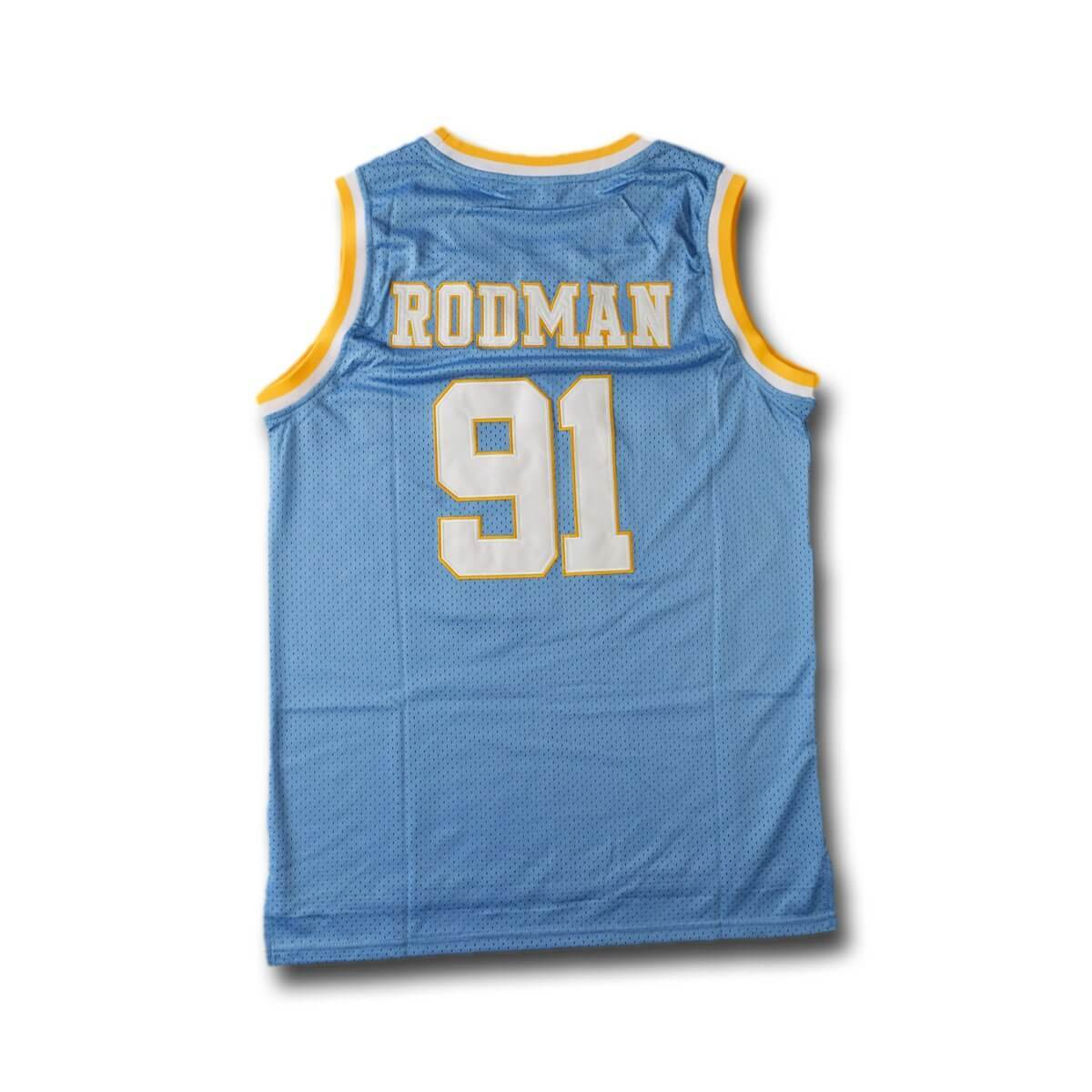 Oak Cliff 91 Rodman Basketball Jersey