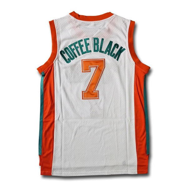 Stitched Coffee Black Flint Tropics Basketball Jersey 7 Stitched