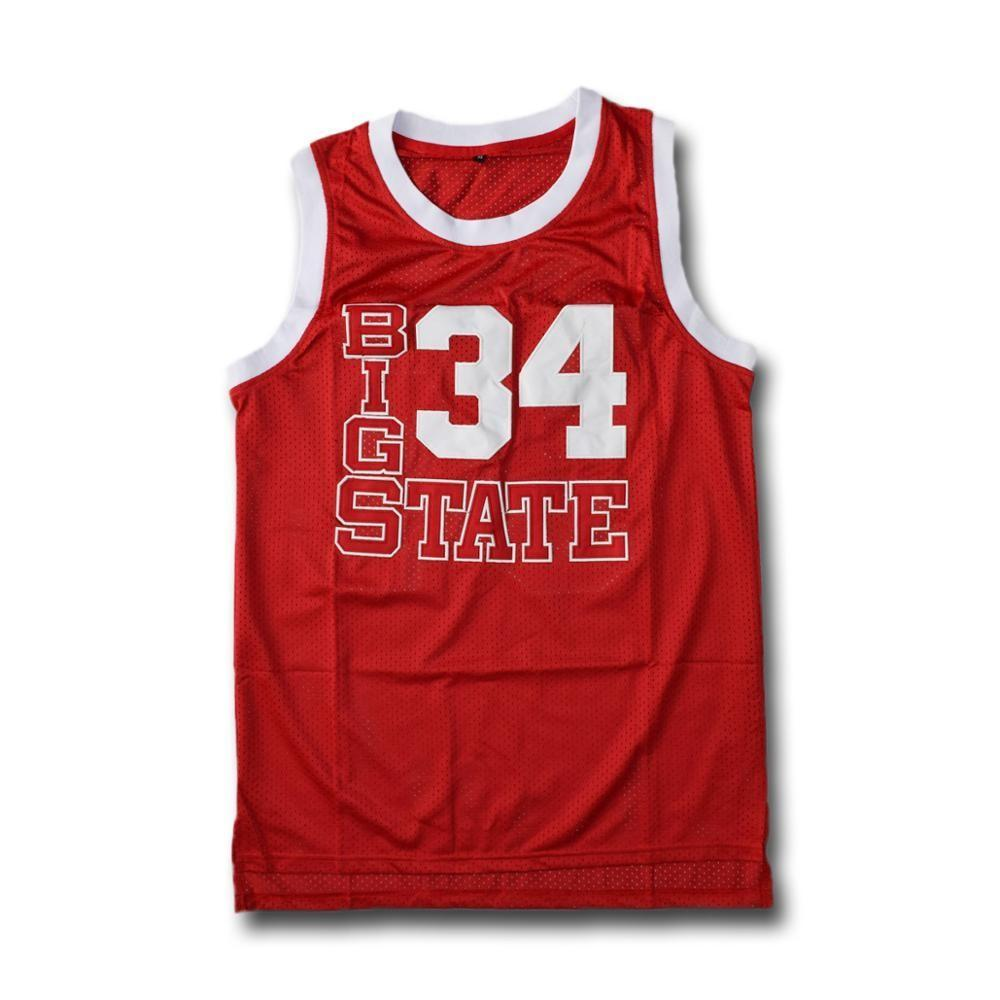 Jesus Shuttlesworth 34 Big State Basketball Jersey
