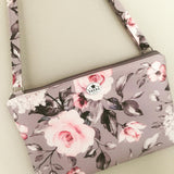 Sheba Grey Bloom Sling