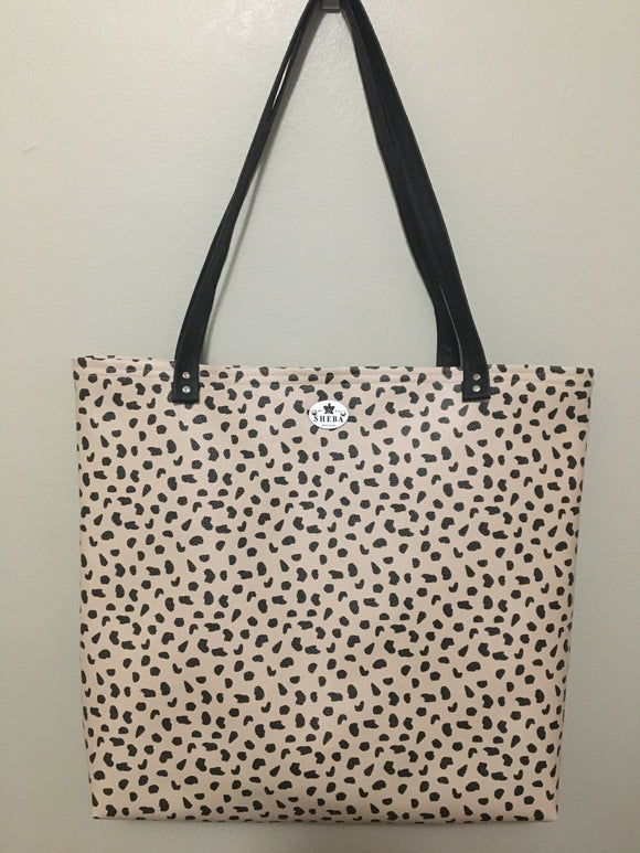 Sand Cheetah Basic Tote