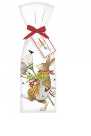 Garden Tools Bunny Pr Kitchen Towels