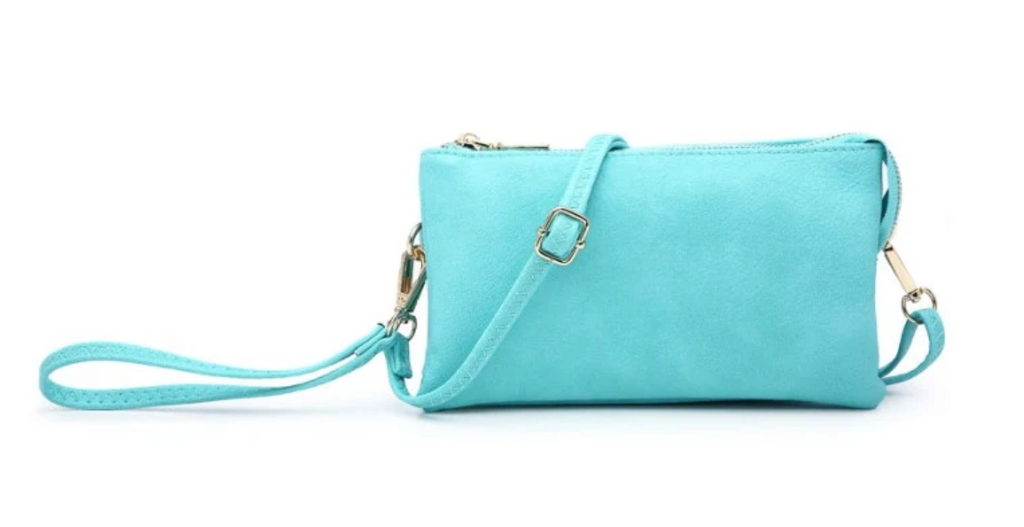 Riley Compartment Crossbody/Wristlet