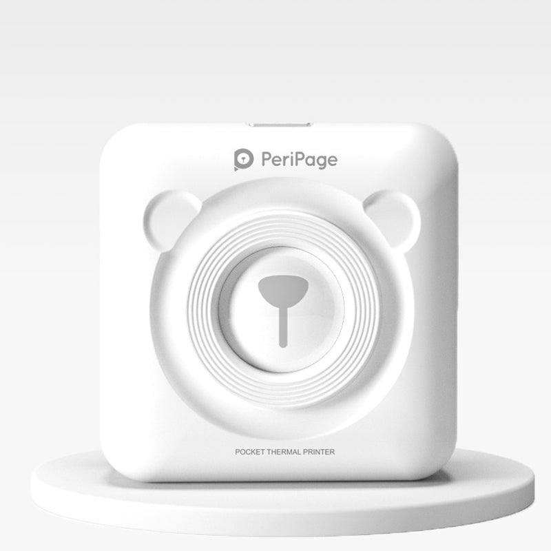 White PeriPage Pocket Printer