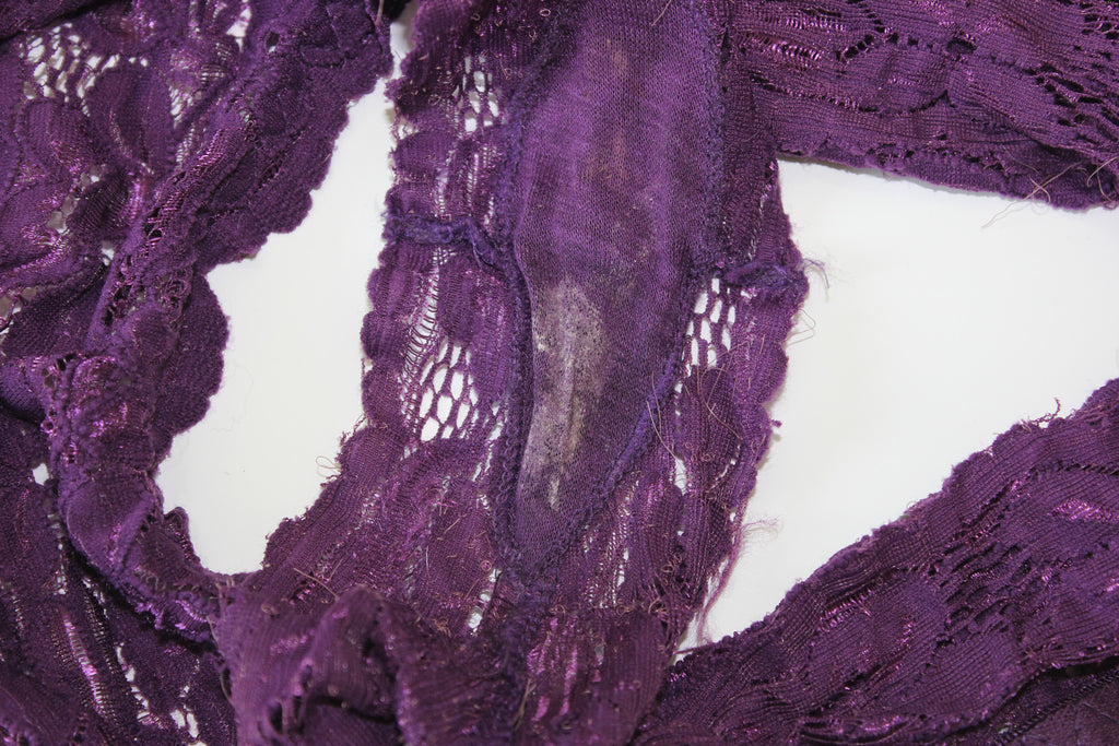Purple Panty Booty Shorts WORN 6 DAYS