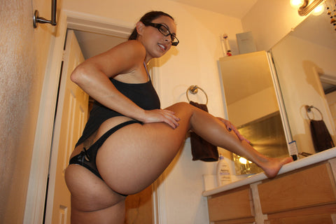 Danni Cole - Black Thong