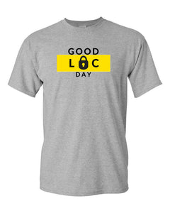 GOOD LOC DAY TEE (GRAY) - Good Loc Day