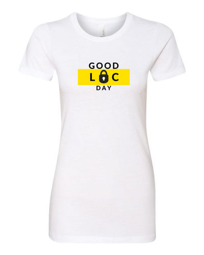 GOOD LOC DAY TEE (WHITE) - Good Loc Day
